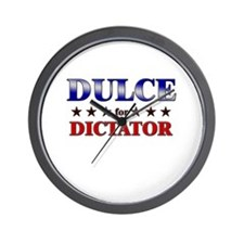 DULCE for dictator Wall Clock