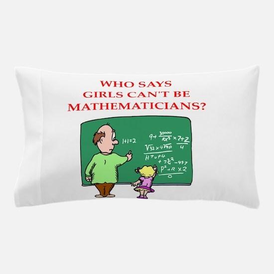 math Pillow Case