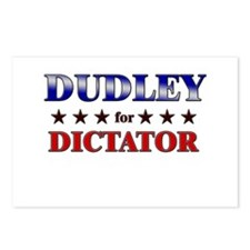 DUDLEY for dictator Postcards (Package of 8)
