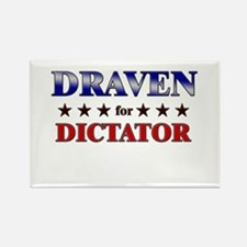 DRAVEN for dictator Rectangle Magnet