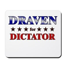 DRAVEN for dictator Mousepad