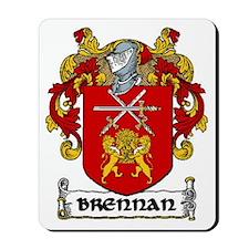 Brennan Coat of Arms Mousepad