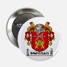 "Brennan Coat of Arms 2.25"" Button (10 pack)"