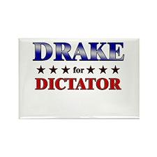DRAKE for dictator Rectangle Magnet
