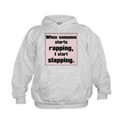 Rapping, Slapping Hoodie