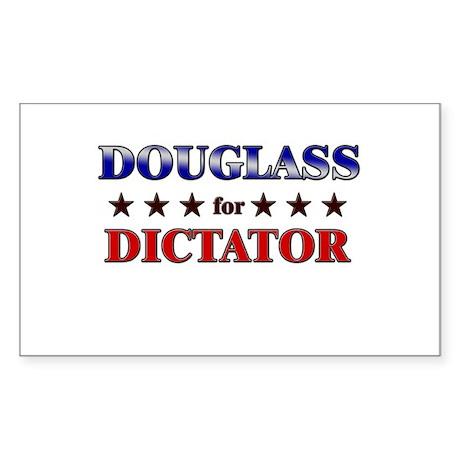 DOUGLASS for dictator Rectangle Sticker