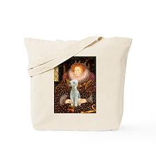 Queen / Bedlington T Tote Bag