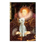 Queen / Bedlington T Postcards (Package of 8)