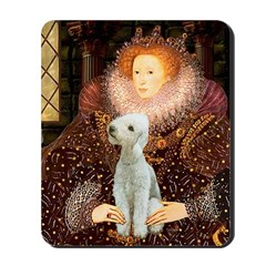 Queen / Bedlington T Mousepad