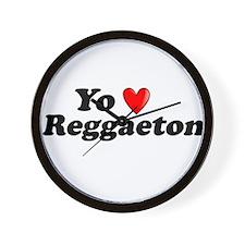 Yo Amo Reggaeton Wall Clock