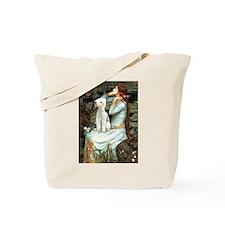 Ophelia / Bedlington T Tote Bag