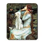 Ophelia / Bedlington T Mousepad