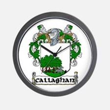 Callaghan Coat of Arms Wall Clock