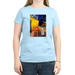 Cafe / Bedlington T Women's Light T-Shirt