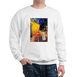 Cafe / Bedlington T Sweatshirt