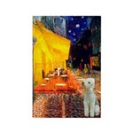 Cafe / Bedlington T Rectangle Magnet (10 pack)