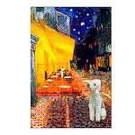 Cafe / Bedlington T Postcards (Package of 8)
