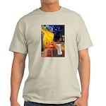 Cafe / Bedlington T Light T-Shirt
