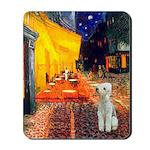Cafe / Bedlington T Mousepad