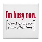 Funny office Tile Coasters