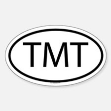 TMT Oval Decal
