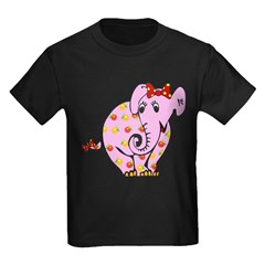 Cute Pink Elephant T