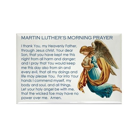 Luther's Morning Prayer Magnet (100 pack)