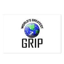 World's Greatest GRIP Postcards (Package of 8)