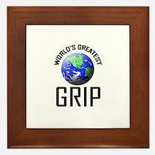 World's Greatest GRIP Framed Tile