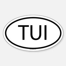 TUI Oval Decal