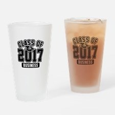Class Of 2017 Business Drinking Glass