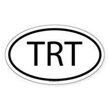 TRT Oval Decal