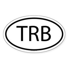 TRB Oval Decal