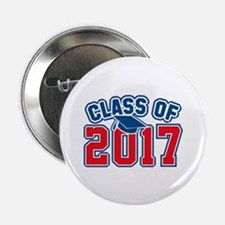 """Class Of 2017 2.25"""" Button (100 pack)"""