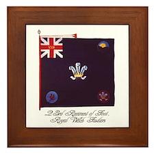 Regimental Colour Framed Tile