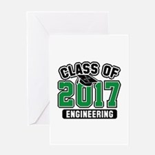 Class Of 2017 Engineering Greeting Card