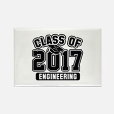 Class Of 2017 Engineering Rectangle Magnet