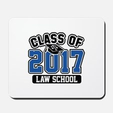 Class Of 2017 Law Mousepad