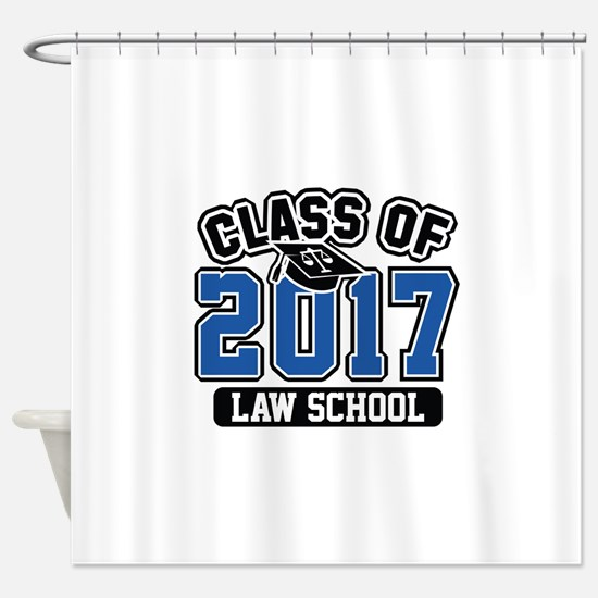 Class Of 2017 Law Shower Curtain