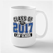 Class Of 2017 Law Large Mug