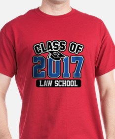 Class Of 2017 Law T-Shirt