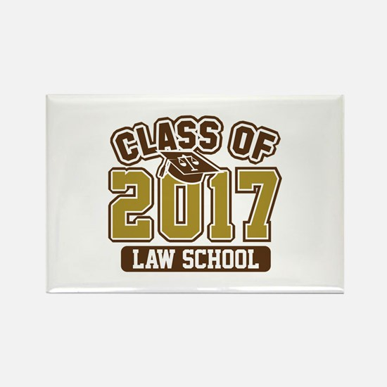 Class Of 2017 Law Rectangle Magnet (100 pack)