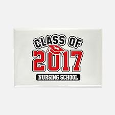 Class Of 2017 Nursing Rectangle Magnet