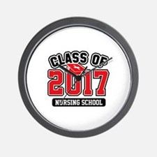 Class Of 2017 Nursing Wall Clock