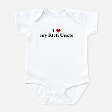I Love my Rich Uncle Infant Bodysuit
