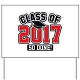 2017 graduation Yard Signs