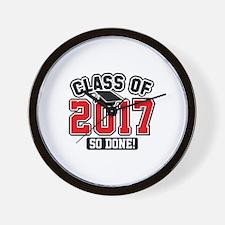 Class Of 2017 Wall Clock