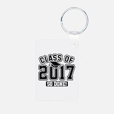 Class Of 2017 Aluminum Photo Keychain