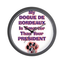 My Dogue De Bordeaux Is Smart Wall Clock