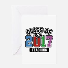 Class Of 2017 Teaching Greeting Card